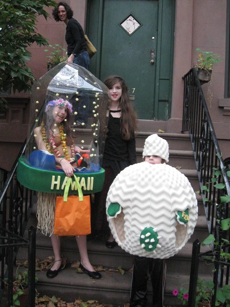 trick or treating begins jpotisch tags halloween costume rachel kate nina