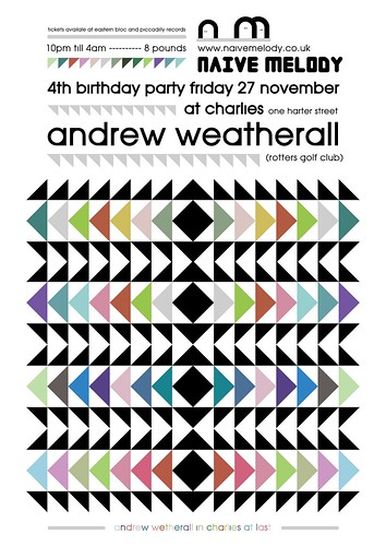 4th birthday Weatherall print
