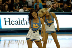 V0000325 (bruin805) Tags: basketball cheerleaders ucla concordia bruins danceteam pauleypavilion spiritsquad