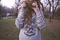 (yyellowbird) Tags: camera leica selfportrait girl cari