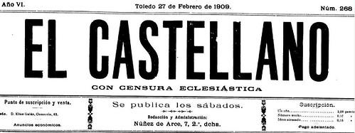 Portada de El Castellano