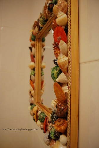 sea shell mirror 3