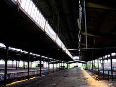 altona bahn property (etzmolch) Tags: old abandoned station graffiti empty property railway bahn altona gleisdreieck