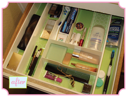Make-up Drawer - after