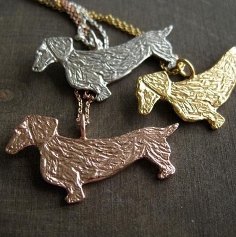 Odette Dachshund necklace