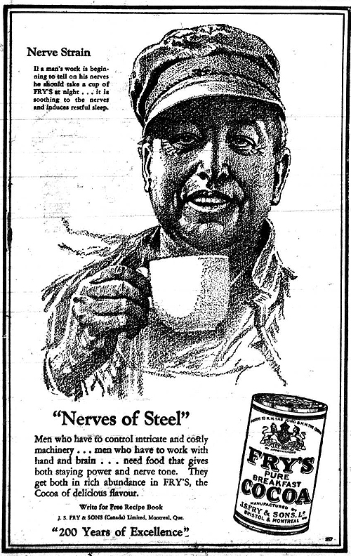 Vintage Ad #967: Nerves of Steel