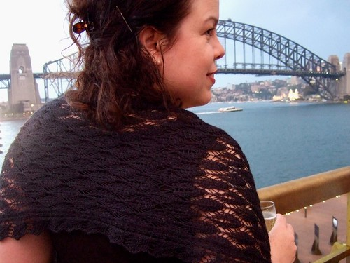 Harbour Bridge and shawl