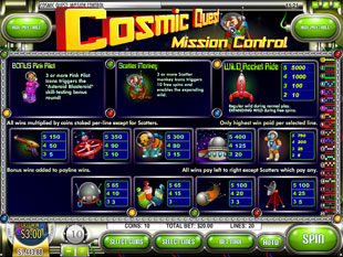 free Cosmic Quest Episode One slot mini symbol