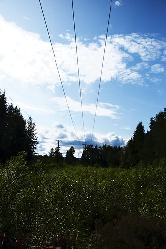 power lines to somewhere