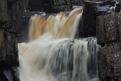 Crashing and Splashing (dave millers photos) Tags: county high force durham crashing splashing