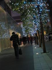 田代通り (がじゅ) Tags: 散歩 s90 街 秋葉原 イルミネーション