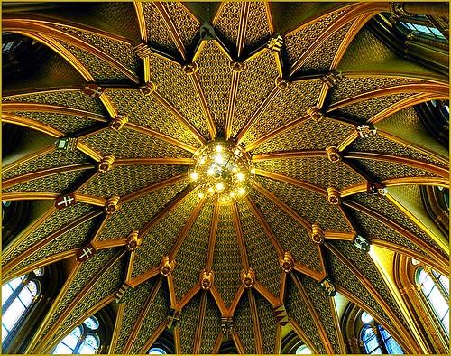Golden ceiling - Budapest Parliament