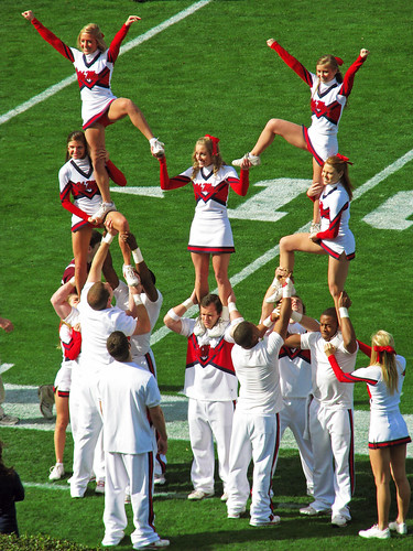 Ole Miss Cheerleaders