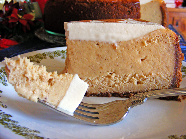 Sweet Potato Cheesecake with Marshmallow-Sour Cream Topping (adapted ...