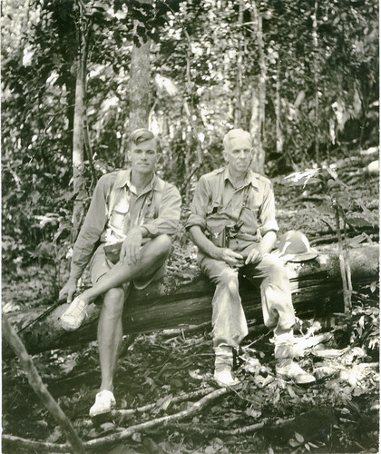 Hugo Curran and Edward Beckwith on Bacan Island