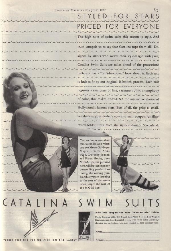 479f5e8e73 1932_17 (Amy Jeanne) Tags: fashion 1932 vintage catalina 1930s swimsuit  bathingsuit swimwear anitapage