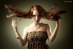 Elisa Lozano-70 (GUSTAVO F. VELARDE) Tags: red sexy fashion mexico rojo model glamour modelo fantasy monterrey bemflickrbembrasil
