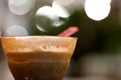 Meltycup (Jeremy Brooks) Tags: california ca cup unitedstates bokeh spoon icecream photowalk paloalto melted photowalking photowalking101609