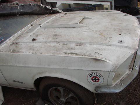 68 Cobra Jet Mustang Barn Find
