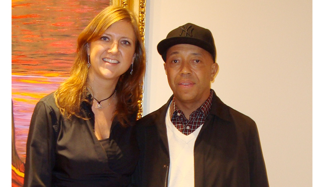 Lita Asscher Russel Simmons Power of Diamonds Art Basel