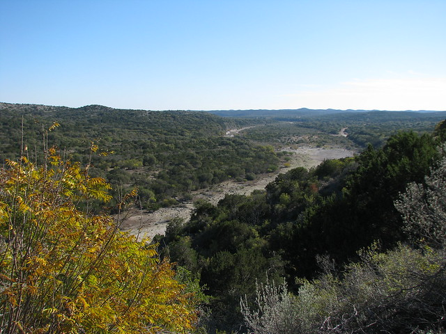 Picture A Day January 24 2010 - Overlooking the West Nueces River by mlhradio