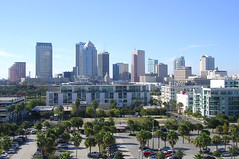 Tampa from Cruise Ship
