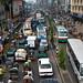 Traffic in the capital - Dhaka