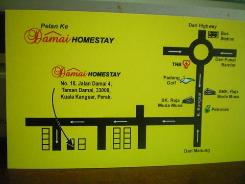 Damai Homestay Kat Kuala Kangsar Satu Lagi Penginapan Best Terbaru Di