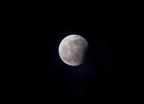 Moon eclipse Latvia