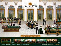 GrandPlay Casino Lobby