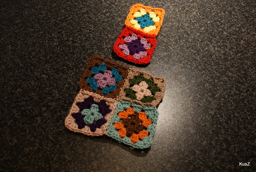 granny squares, so far, so good!