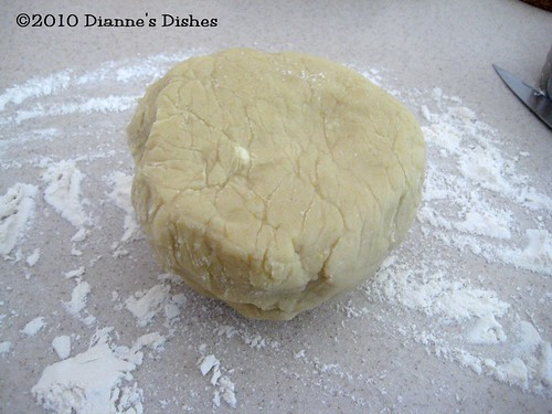 Lemon Sugar Cookies: Chilled Dough