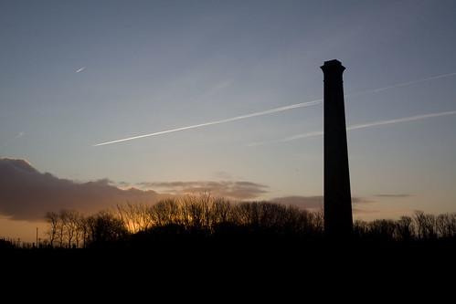 sunrise at the old brickworks