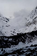 Lawine in Saas Fee (odi-lee) Tags: schnee schweiz 2009 lawine saasfee atemberaubend