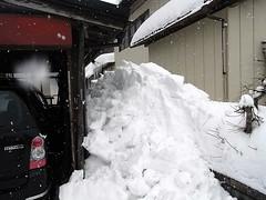 また!雪ぬけ