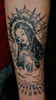 mary healed (Billy Whaley Tattoo) Tags: new white black tattoo grey idea arm god kentucky mary badass praying mother indiana albany louisville rays custom thorn religeous guataloupe