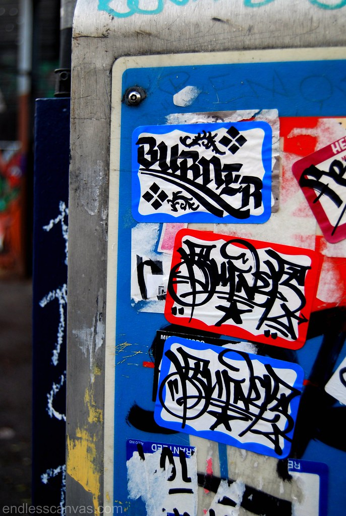 Burner Stickers San Francisco.