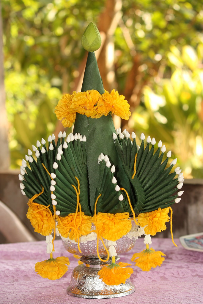 The central piece in an important Isaan ceremony
