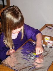 Suncatchers (LilMissBossy) Tags: party art cuties suncatchers