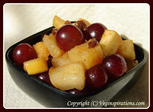 Fruit chaat salad 2