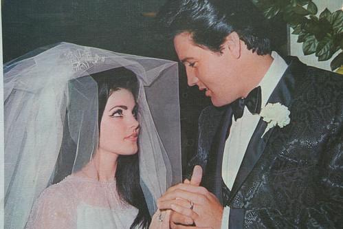 Priscilla y Elvis Presley