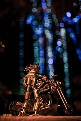robot.. (photokedek/fahmi) Tags: 35mm 50mm robot bokeh harley cooper motor davidson malam oren biru kuning ghostrider merah pami lampu d80 d5000 pazara raksasa kedek