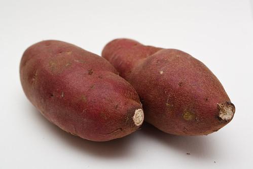 Organic sweet potatoes