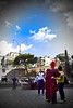 (Matteo Settegrana) Tags: trees sky people rome roma alberi clouds nikon nuvole colosseum persone cielo gladiator colosseo gladiatore cieloromano matteosettegrana
