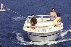 1970-Lk_Cumberland-1 (mgsmith) Tags: family vacation geotagged boat kentucky houseboat 1970 waterski lakecumberland epitome eileneberke lenberke debbieberke steveberke suekaatz
