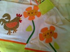 Jogo de Pano de prato (Dipano Ateli) Tags: de galinha pano patchwork prato cozinha jogos tecido aplicao apliqu dipano