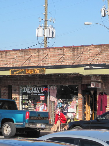 ... two gelato shops, an actual record shop, design firms and a gay bar.