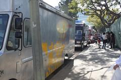 Line of Trucks at LA Street Food Fest