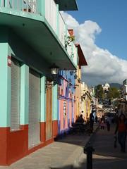 Walking around San Cristobal.