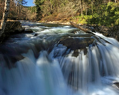 Luckiamute Falls (Ian Sane) Tags: county city fall water oregon canon river ian eos town waterfall stream little mark small falls ii 5d polk sane luckiamute